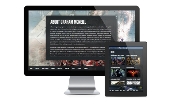 Graham McNeill's website